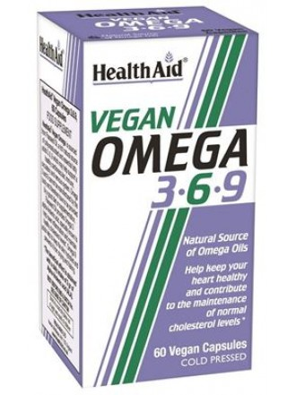 HEALTH AID VEGAN OMEGA 3-6-9 60CAPS