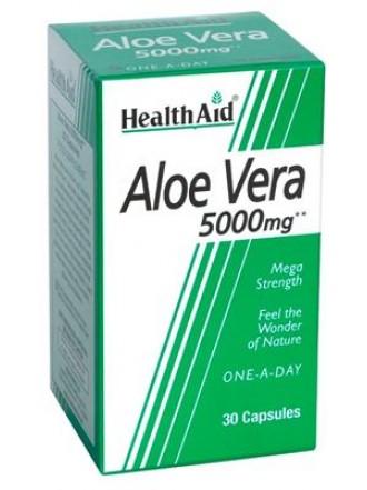 HEALTH AID ALOE VERA 5000MG 30 CAPS