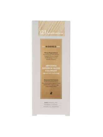 KORRES ABYSSINIA SUPERIOR GLOSS COLORANT 12.1 SPECIAL BLONDE ΣΑΝΤΡΕ 50ML