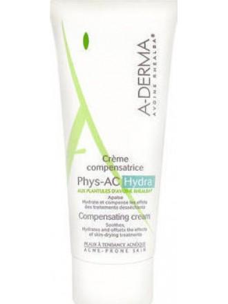 A-DERMA PHYS-AC HYDRA CREME COMPENSATRICE 40ML