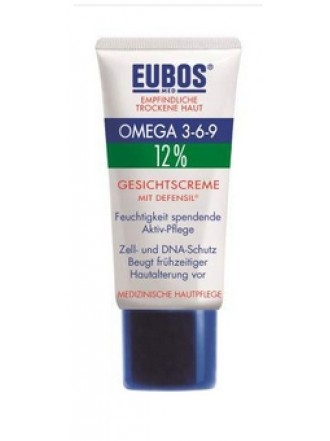 EUBOS OMEGA 3-6-9 FACE CREAM ΜE DEFENSIL® 50ML