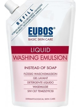 EUBOS RED LIQUID WASHING EMULSION REFILL 400ML