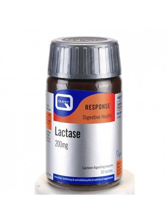 QUEST LACTASE 200MG LACTOSE DIGESTING ENZYME TABS 30S