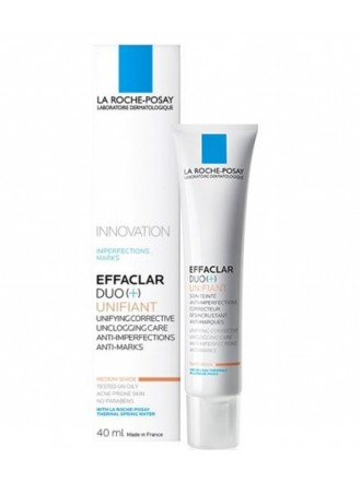 LA ROCHE POSAY EFFACLAR DUO(+) UNIFIANT MEDIUM SHADE 40ML
