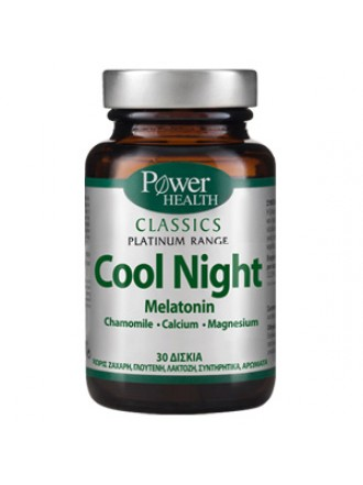 POWER HEALTH PLATINUM COOL NIGHT MELATONIN 30CAPS