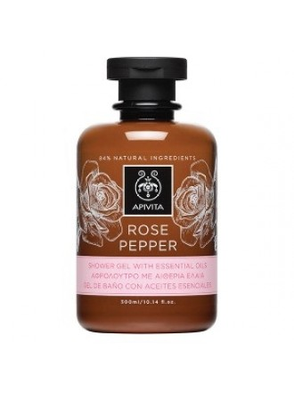 APIVITA ROSE PEPPER ΑΦΡΟΛΟΥΤΡΟ 300ML