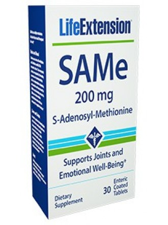 LIFE EXTENSION SAME 200MG 30TABS