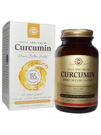 SOLGAR FULL SPECTRUM CURCUMIN 30 SOFTGELS