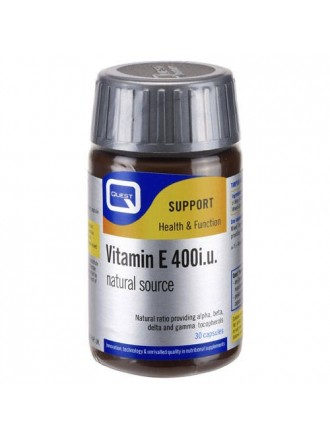 QUEST VITAMIN E 400I.U. NATURAL SOURCE CAPS 30S
