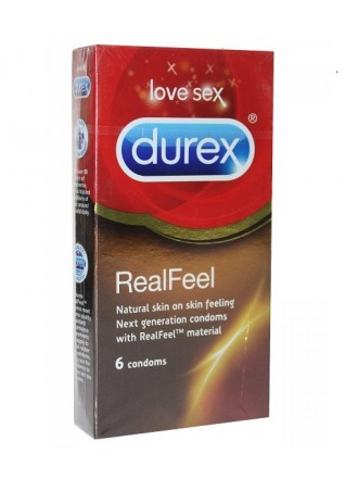DUREX REAL FEEL 6 ΤΕΜΑΧΙΑ