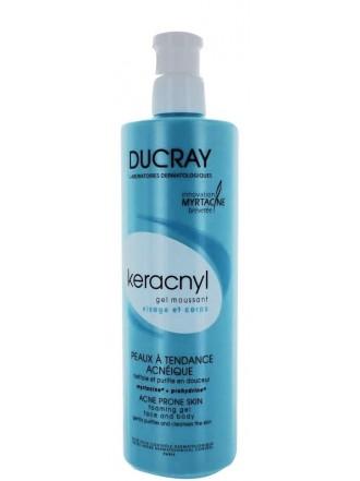 DUCRAY KERACNYL GEL MOUSSANT 400ml
