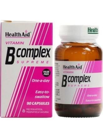 HEALTH AID B-COMPLEX SUPREME 90 CAPS