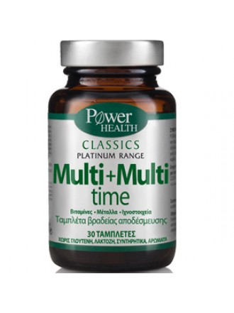 POWER HEALTH PLATINUM MULTI-MULTI TIME 30TABS