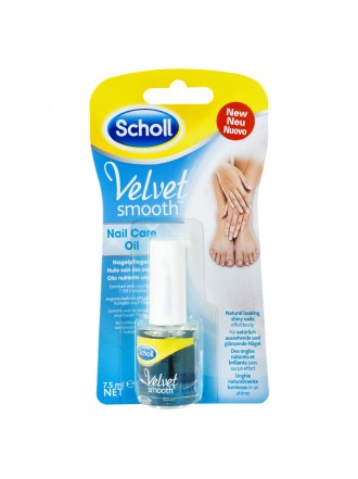 SCHOLL VELVET SMOOTH NAIL CARE OIL 7.5 ML