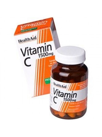 HEALTH AID VITAMIN C 1500MG PROLONGED RELEASE TABLETS 30'S
