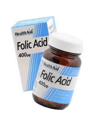 HEALTH AID FOLIC ACID 400ug TABLETS 90's