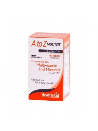 HEALTH AID A to Z MULTI. – 90tabs