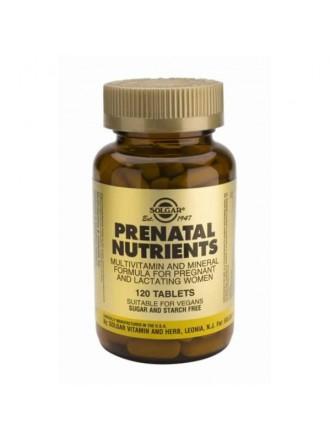SOLGAR PRENATAL NUTRIENTS 120TAB