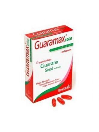 HEALTH AID GUARAMAX™ GUARANA 1000MG CAPSULES 30'S -BLISTER