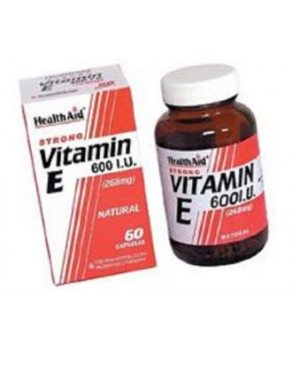 HEALTH AID VITAMIN E 600IU NATURAL CAPSULES 60'S
