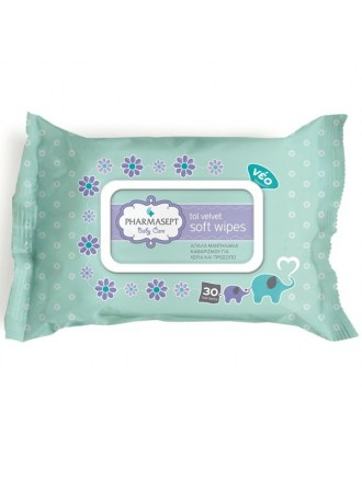 PHARMASEPT TOL VELVET BABY SOFT WIPES 30ΤΕΜ