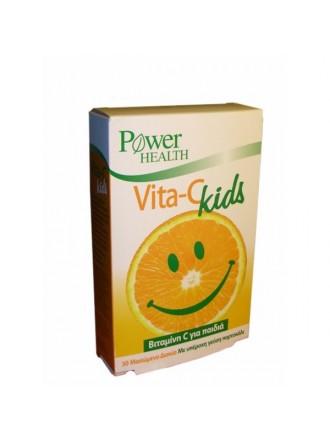 POWER HEALTH VITA C KIDS 30 ΜΑΣΩΜΕΝΑ ΔΙΣΚΙΑ