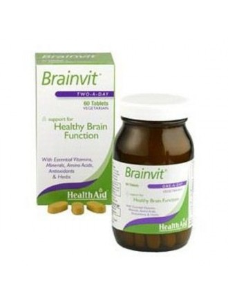 HEALTH AID BRAINVIT™ TABLETS 60'S
