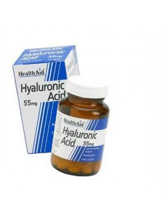 HEALTH AID HYALURONIC ACID 55MG 30'S