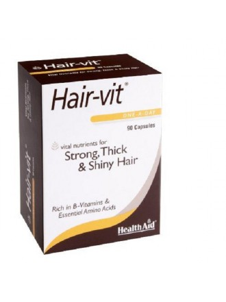HEALTH AID HAIRVIT™ CAPSULES 90'S -BLISTER