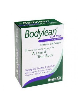 HEALTH AID BODYLEAN CLA PLUS 30's CAPS+30's TABS