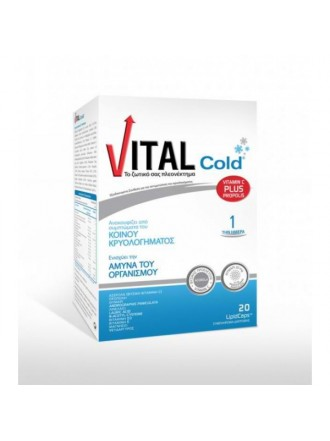 VITAL PLUS - COLD  20 CAPS
