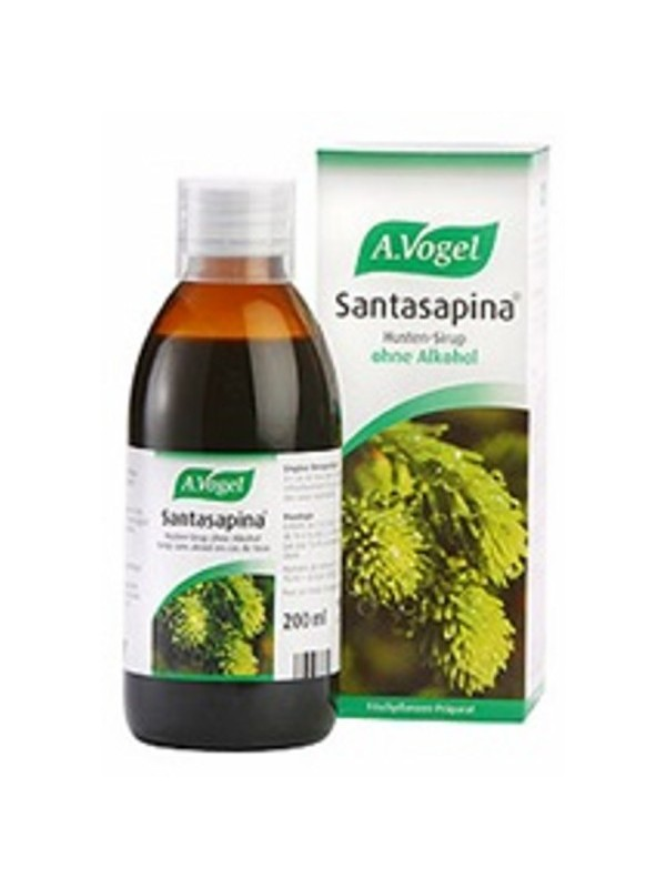A.VOGEL SANTASAPINA SYRUP 200ML (WITHOUT ALC)