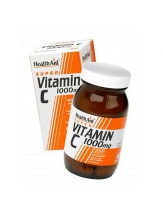 HEALTH AID VITAMIN C 1000MG CHEWABLE ORANGE FLAVOUR TABLETS 30'S