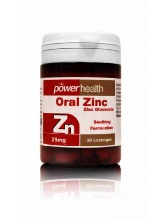 POWER HEALTH ORAL ZINC ΜΑΣΩΜΕΝΑ 25MG 30TAB