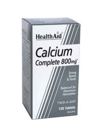 HEALTH AID BALANCED CALCIUM COMPLETE 800MG TABLETS 120'S