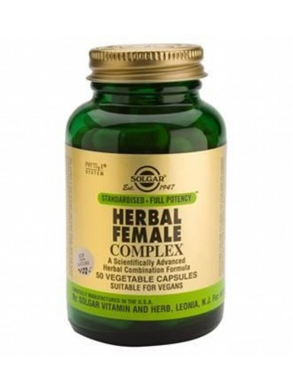 SOLGAR SFP HERBAL FEMALE COMPLEX 50VCAP