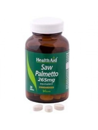 HEALTH AID SAW PALMETTO BERRY EXTRACT TABLETS 30'S