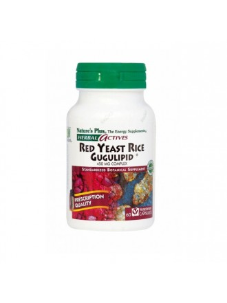 NATURE'S PLUS RED YEAST RICE/GUGULIPID VCAPS 60